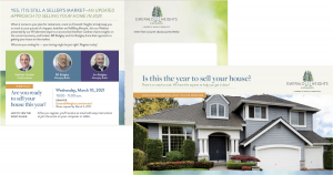Is this the Year to Sell Your House? mailer