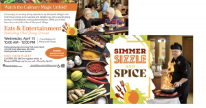Summer, Sizzle, Spice direct mail - Colorful design
