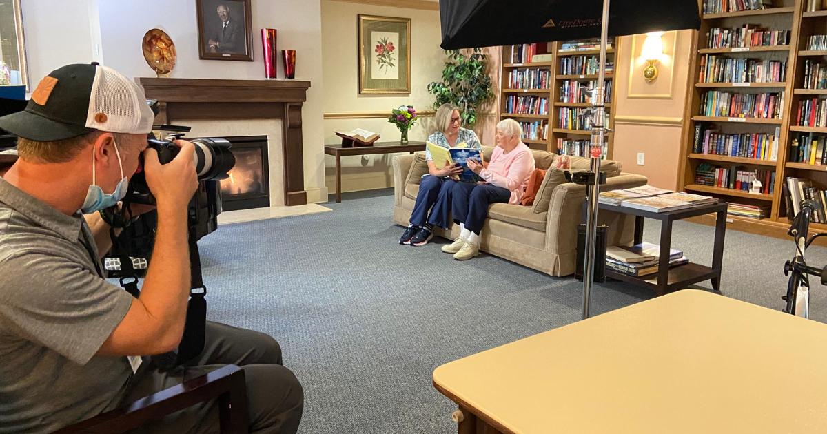 Senior Living Photo Shoot— Part 2: The Shoot